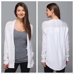 lululemon - cardi in the front cardigan sweater